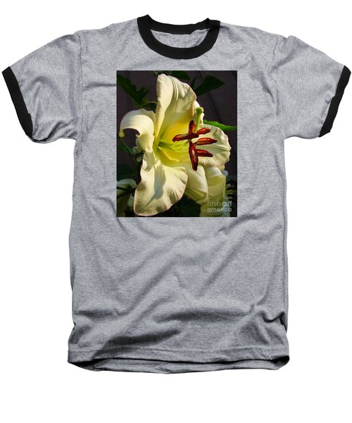 Lily's Morning Baseball T-Shirt