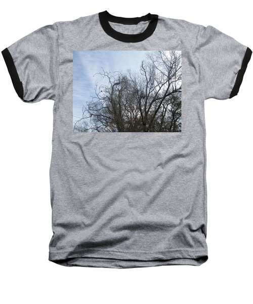 Limbs In Air Baseball T-Shirt by Jewel Hengen