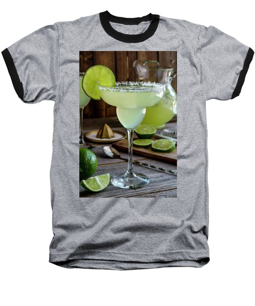 Baseball T-Shirt featuring the photograph Lime Margaritas by Teri Virbickis