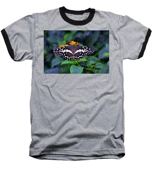 Lime Swallow Tail Baseball T-Shirt