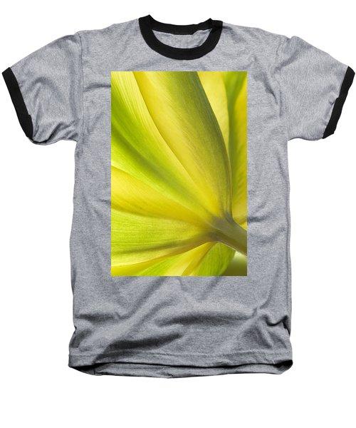 Lime Tulip Baseball T-Shirt