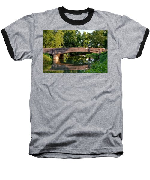 Lime Valley Bridge Baseball T-Shirt