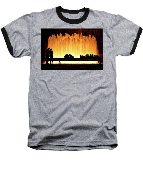 Lincoln Center Fountain Baseball T-Shirt