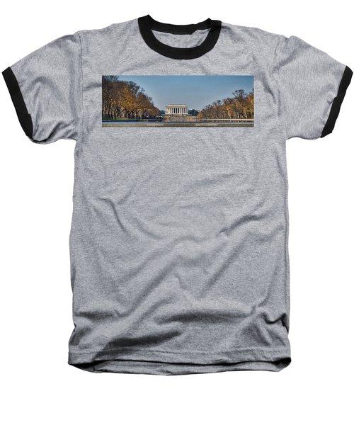 Lincoln From Afar Baseball T-Shirt