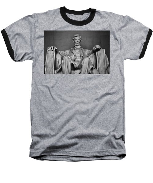 Lincoln Memorial Baseball T-Shirt
