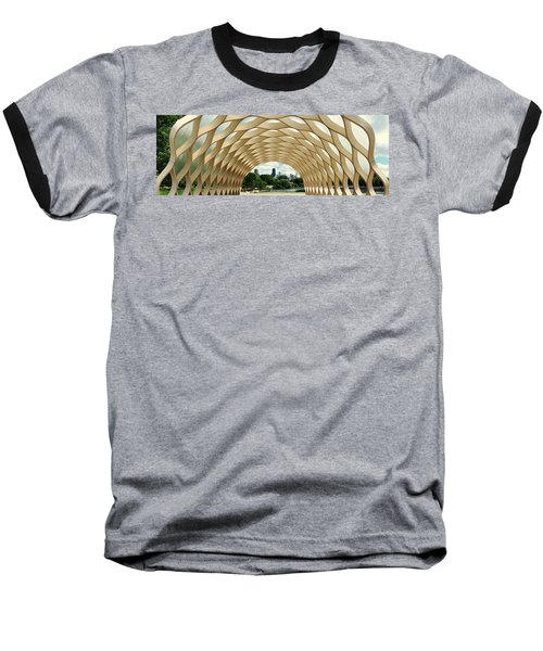 Lincoln Park Zoo Nature Boardwalk Panorama Baseball T-Shirt