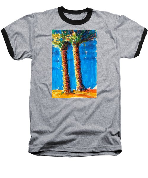 Lincoln Rd Date Palms Baseball T-Shirt