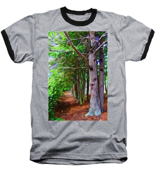 Lincoln's Path Baseball T-Shirt by Joan Reese