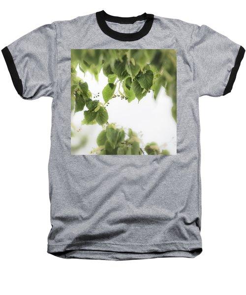 Linden In The Rain 2 -  Baseball T-Shirt