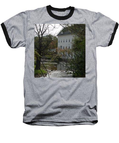 Linden Mill Pond Baseball T-Shirt by Tara Lynn