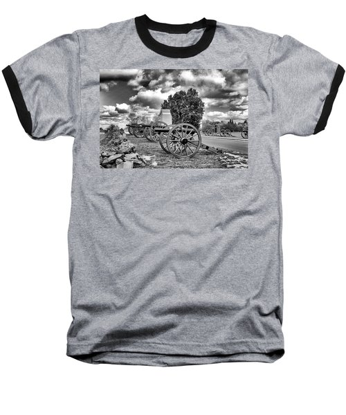 Baseball T-Shirt featuring the photograph Line Of Fire by Paul W Faust - Impressions of Light