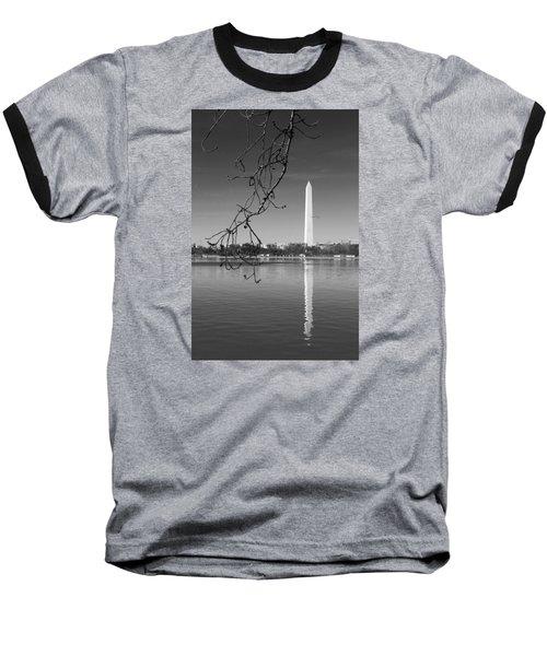 Line Up Baseball T-Shirt by Iryna Goodall