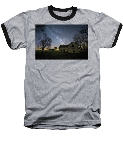 Baseball T-Shirt featuring the photograph Linear by Aaron J Groen