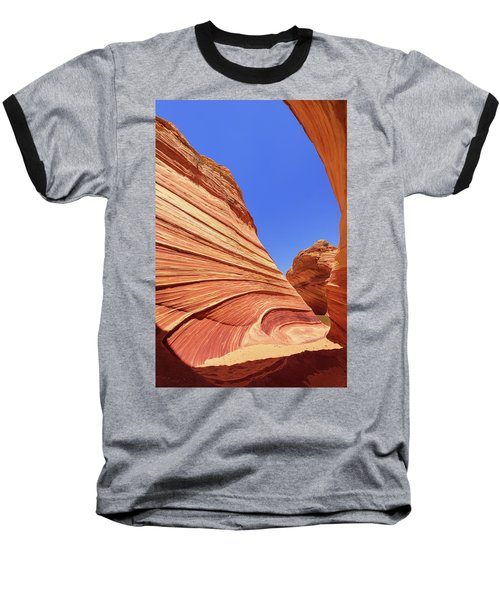 Baseball T-Shirt featuring the photograph Lines by Chad Dutson