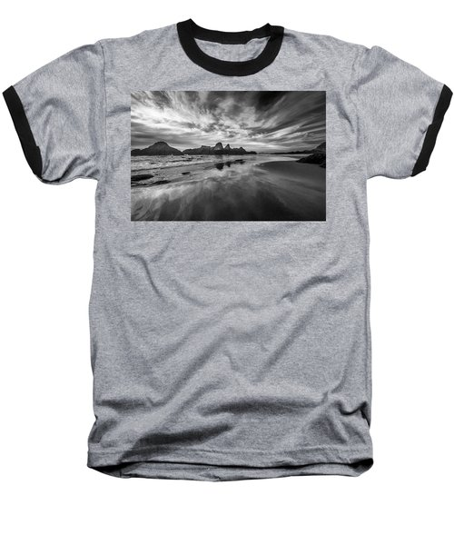 Lines In The Sand At Seal Rock Baseball T-Shirt