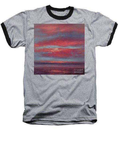 Lingering Heat Baseball T-Shirt by Valerie Travers