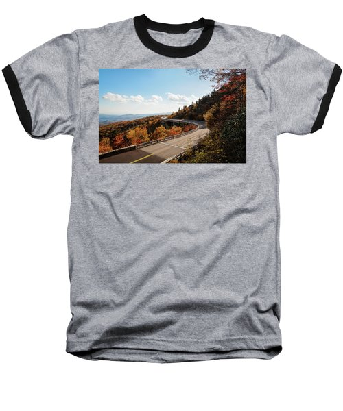 Linn Cove Viaduct Baseball T-Shirt