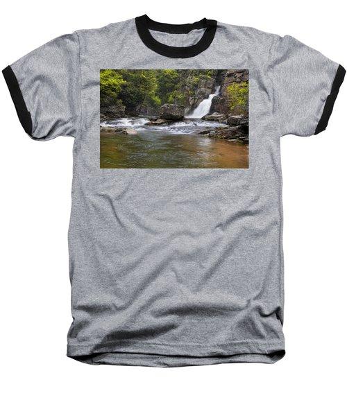 Linville Falls Basin Baseball T-Shirt