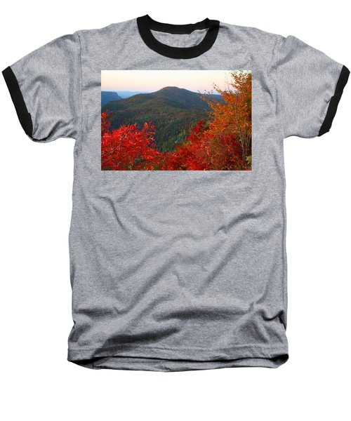 Baseball T-Shirt featuring the photograph Linville Gorge by Kathryn Meyer