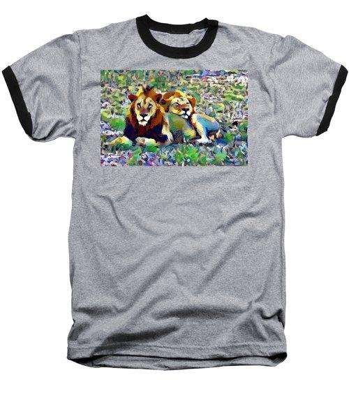 Lion Buddies Baseball T-Shirt