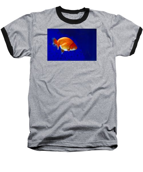 Lion Head Goldfish 6 Baseball T-Shirt