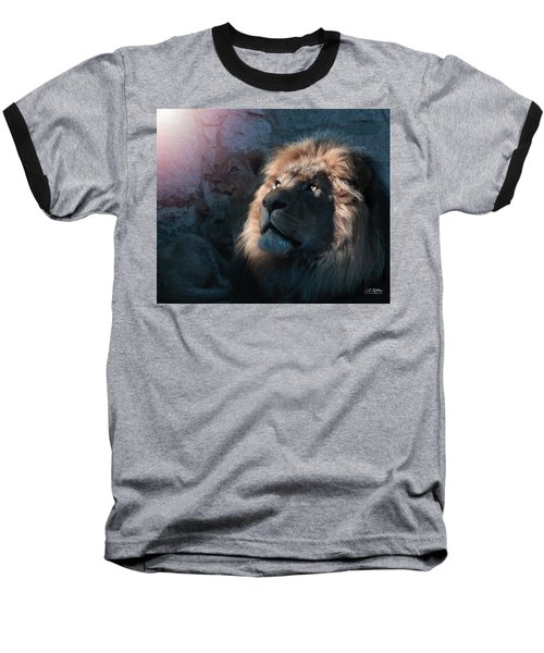 Lion Light Baseball T-Shirt