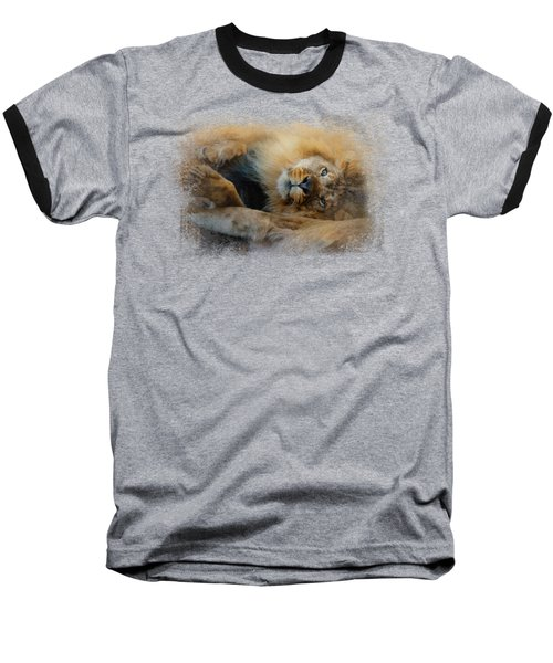 Lion Love 2 Baseball T-Shirt