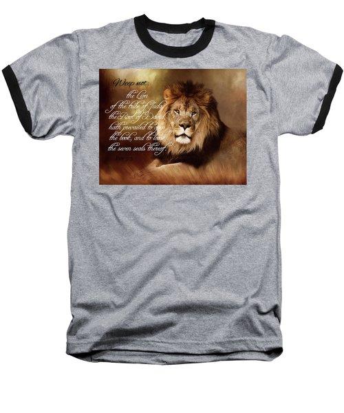 Lion Of Judah Baseball T-Shirt by TnBackroadsPhotos