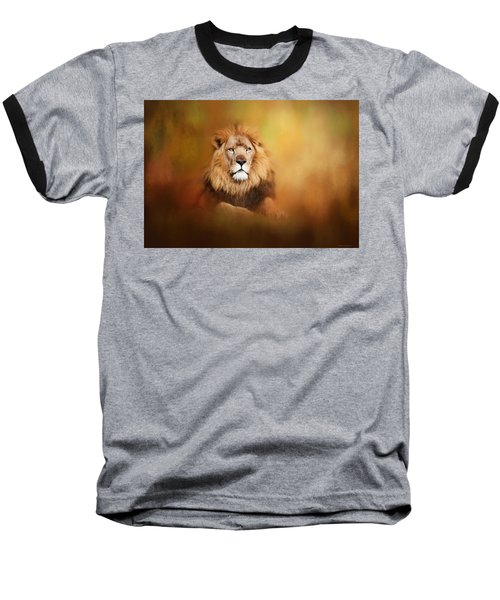 Lion - Pride Of Africa I - Tribute To Cecil Baseball T-Shirt