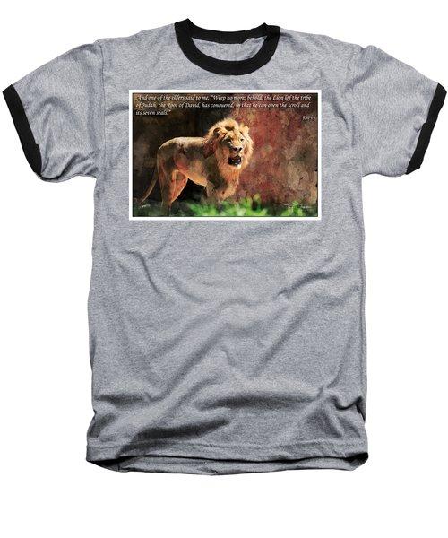 Lion Revelation 5 Baseball T-Shirt