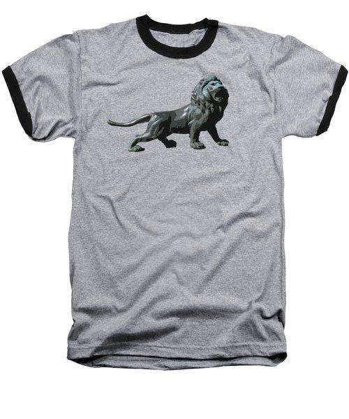 Lion Roar Baseball T-Shirt