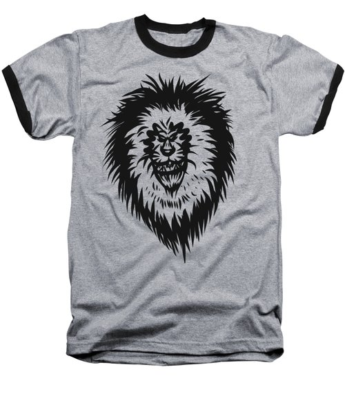 Lion Roar Baseball T-Shirt