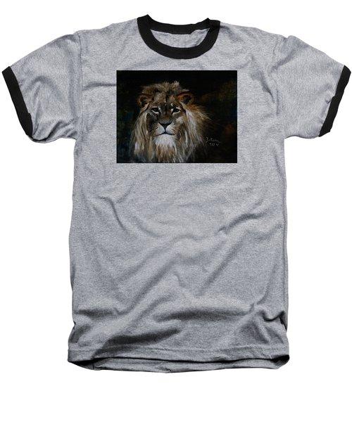 Sargas The Lion Baseball T-Shirt by Barbie Batson