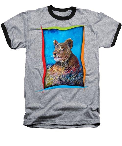 Lioness Pride Baseball T-Shirt
