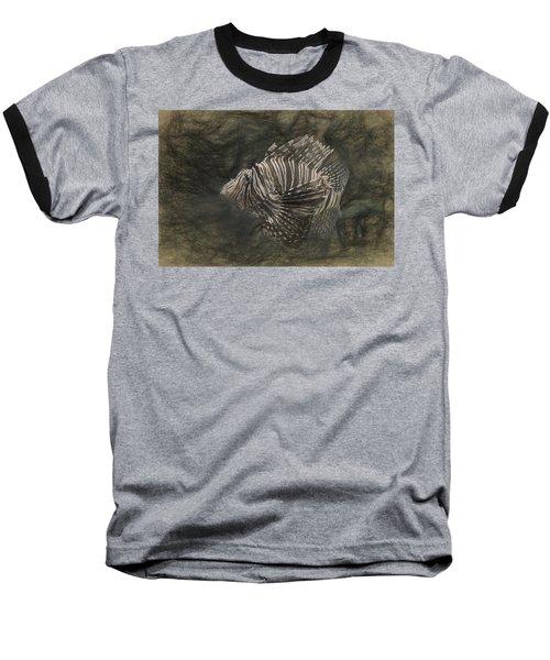 Lionfish Baseball T-Shirt