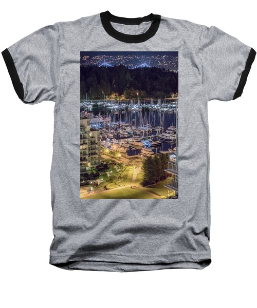 Lions Gate Bridge And Stanley Park Baseball T-Shirt