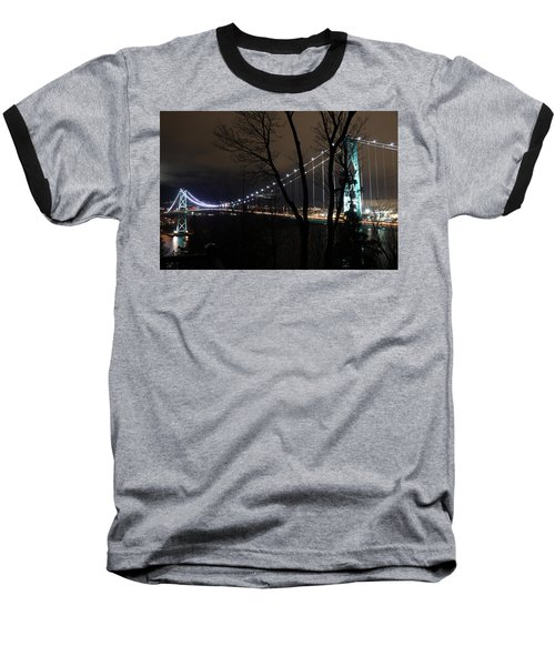 Lions Gate Bridge Baseball T-Shirt