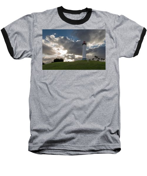 Lion's Lighthouse For Sight - 2 Baseball T-Shirt