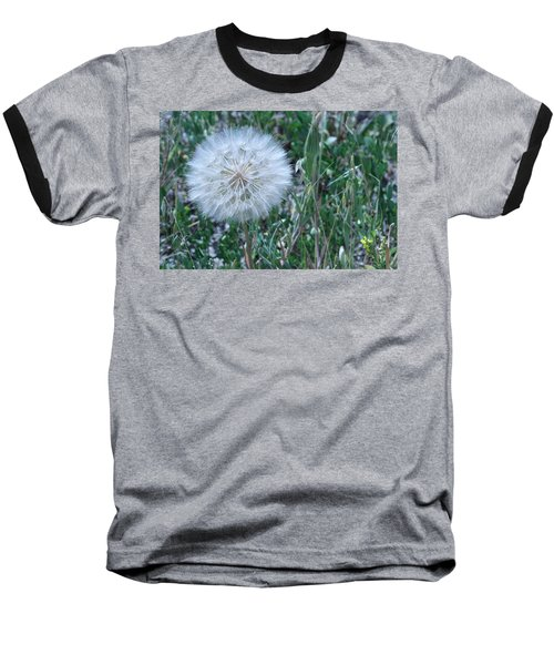 Baseball T-Shirt featuring the photograph Lion's Tooth by Mary Mikawoz
