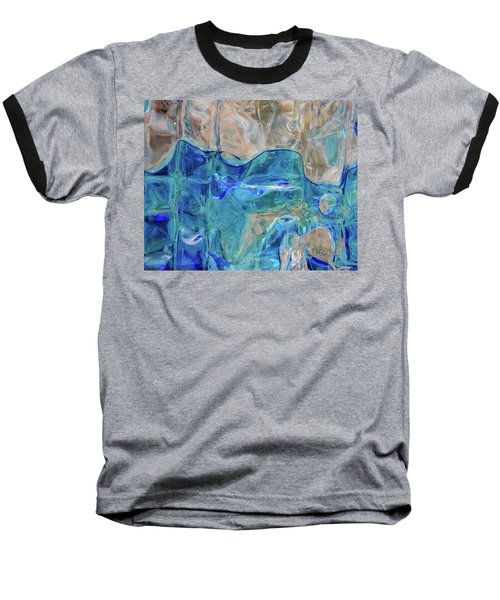 Baseball T-Shirt featuring the photograph Liquid Abstract  #0060 by Barbara Tristan
