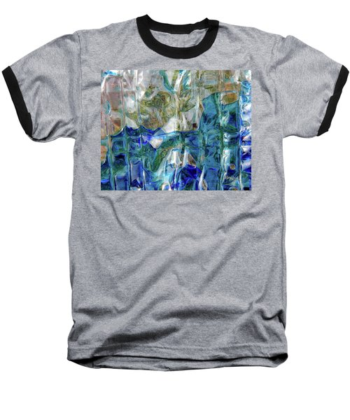 Baseball T-Shirt featuring the photograph Liquid Abstract #0061 by Barbara Tristan