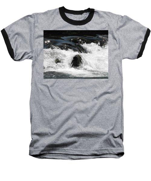 Liquid Art Baseball T-Shirt
