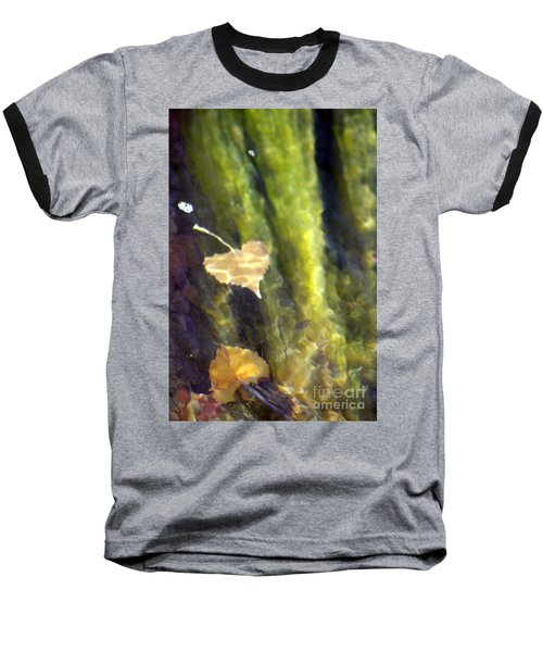 Liquid Leaves 1 Baseball T-Shirt