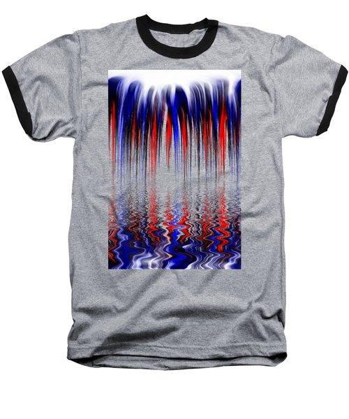 Liquid Overflow By Kaye Menner Baseball T-Shirt