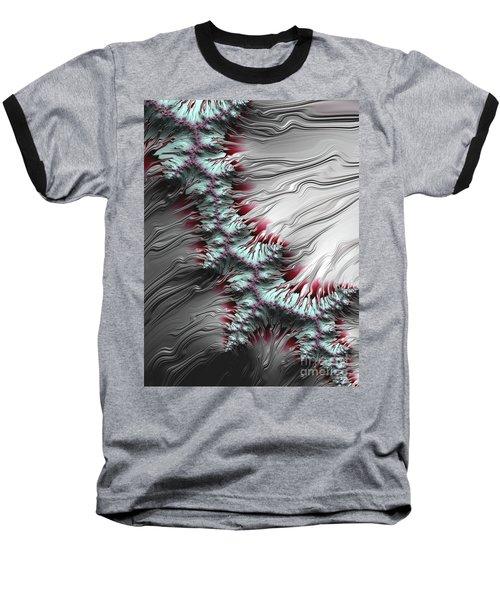 Liquid Silver Baseball T-Shirt