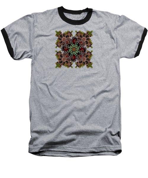 Liquid Spiral Baseball T-Shirt