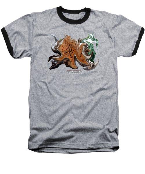 Liquid Stump Transparency Baseball T-Shirt