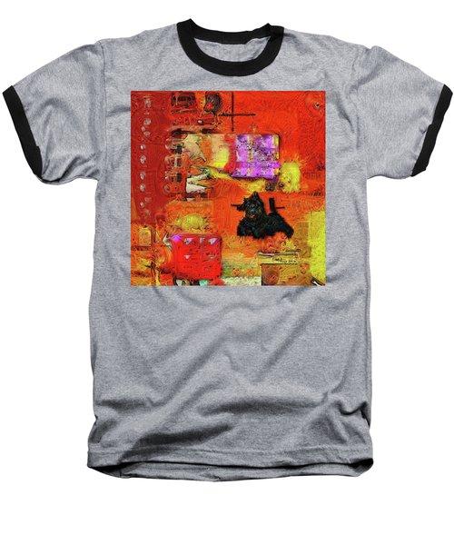 Lisa At Breakfast Baseball T-Shirt