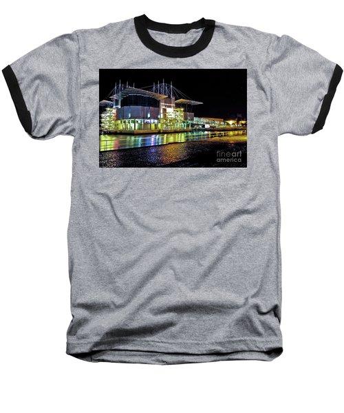 Lisbon - Portugal - Oceanarium At Night Baseball T-Shirt