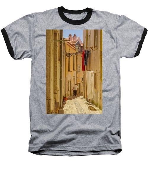 Lisbon Street # 1 Baseball T-Shirt